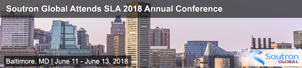 Connect with Soutron Global at SLA 2018; Learn about Cost-Effective ILS, Archive and KM Solutions to Increase Your Value and Efficiency