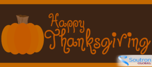 Happy Thanksgiving from Soutron Global Canada @ Canada