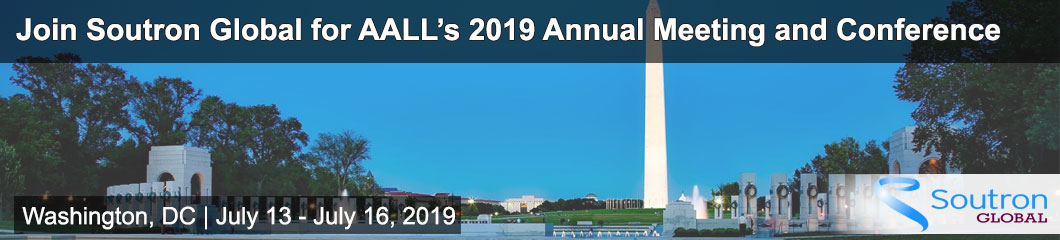 Soutron Global is Attending AALL's 2019 Annual Meeting and Conference
