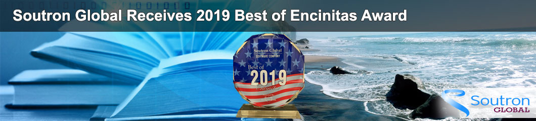 Soutron Global Receives 2019 Best of Encinitas Award