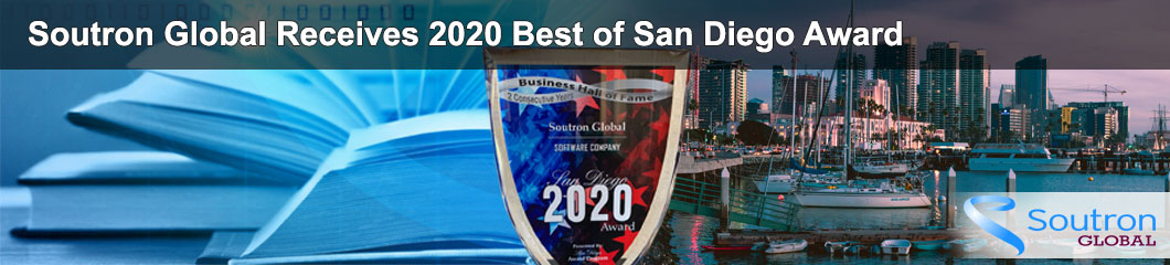Soutron Global Receives 2020 Award from the San Diego Award Program