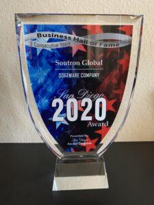San Diego Award 2020
