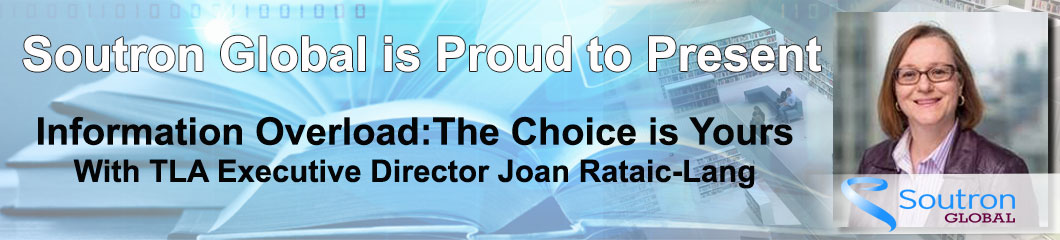 Watch Information Overload: The Choice is Yours with Joan Rataic-Lang